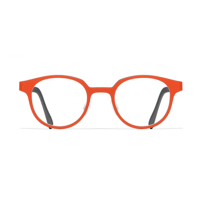 Blackfin glasses in red frames