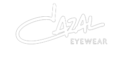 Cazal Eyewear logo in white